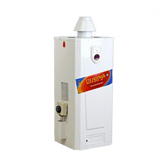 آبگرمکن گازی-برقی 50 لیتری زودجوش گرم آوران مدل GAC50