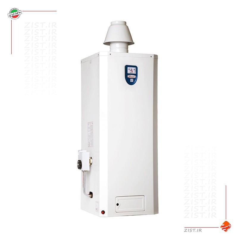 آبگرمکن گازی ۴۰ لیتری زودجوش کوپال توانکاران مدل MT40 دیواری یخچالی