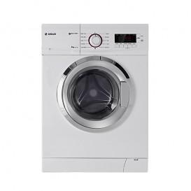 لباسشویی 6 کیلویی اسنوا مدل اکو کلین سفید کروم Eco Clean SWD 164C