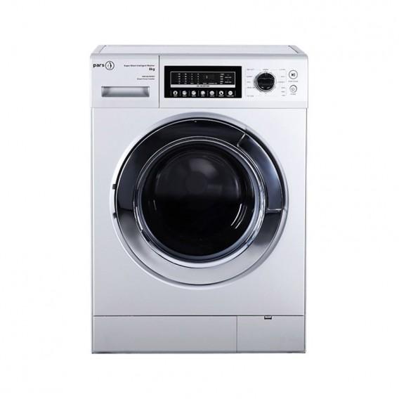 ماشین لباسشویی 8 کیلویی پارس 1281 بدون تسمه تمام اتوماتیک مدل Pars PW1281DHW/D