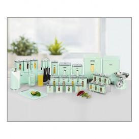 سرویس آشپزخانه 37 پارچه گرد لیمون صنعت سازان کد 1676