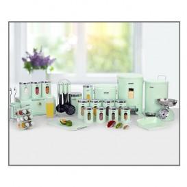 سرویس آشپزخانه 37 پارچه چهارگوش لیمون صنعت سازان کد 1270