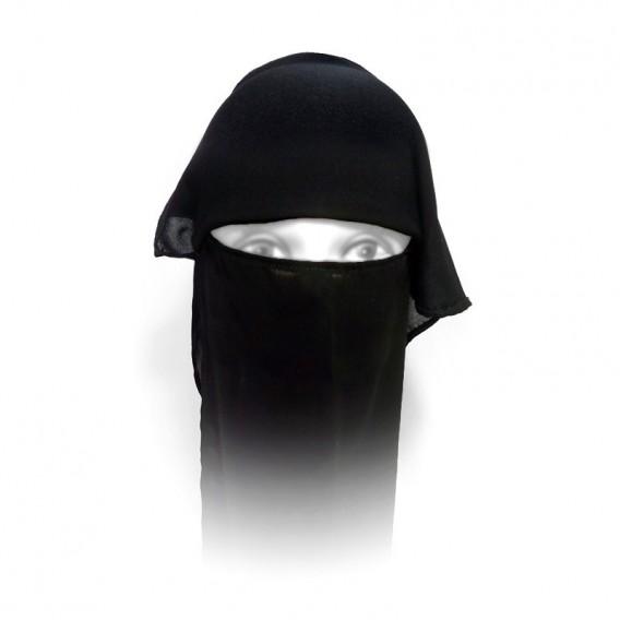 پوشیه دو لایه حجاب دستینه