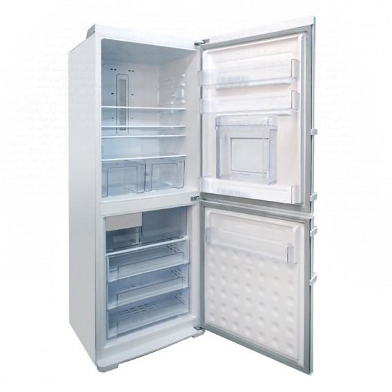 یخچال فریزر پلادیوم الکترواستیل مدل الکتروالتیما 35 فوت PD35 سفید فریزر پایین با یخ ساز اتوماتیک و درب بار