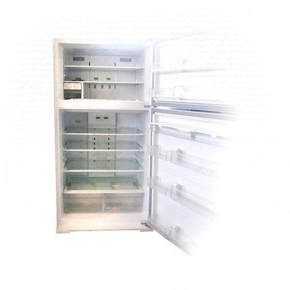 یخچال فریزر پلادیوم الکترواستیل 32 فوت مدل الکتروواید PD32 سفید چرمی فریزر بالا با آبسردکن