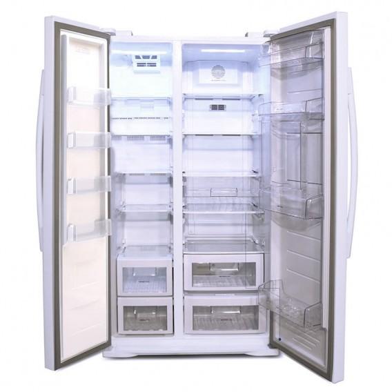 یخچال فریزر هم بر الکترواستیل مدل گرند ساید بای ساید تیتانیوم