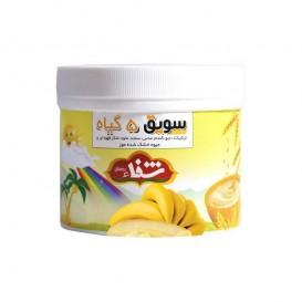 سویق کودک 5 گیاه شفا با میوه موز 400 گرمی رؤیای سلامت