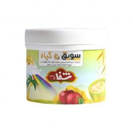 سویق کودک 5 گیاه شفا با میوه سیب و موز 400 گرمی رؤیای سلامت