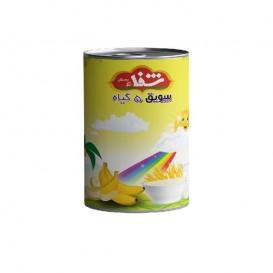 سویق کودک 5 گیاه شفا با میوه موز قوطی 170 گرمی رؤیای سلامت