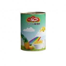 سویق کودک 5 گیاه شفا با میوه آناناس قوطی 170 گرمی رؤیای سلامت