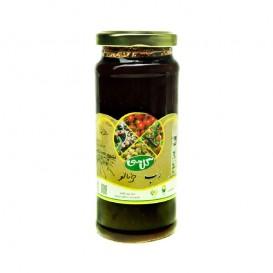 رب خرمالو جنگلی ارگانیک گل سی 500 گرمی