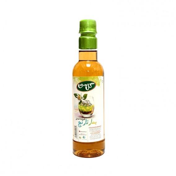 شربت بهارنارنج عسلی ارگانیک گل سی 600 گرمی