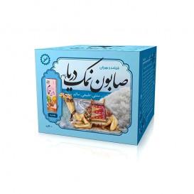 صابون سنتی شیر شتر و نمک دریا ایران گیاه با روغن حمام