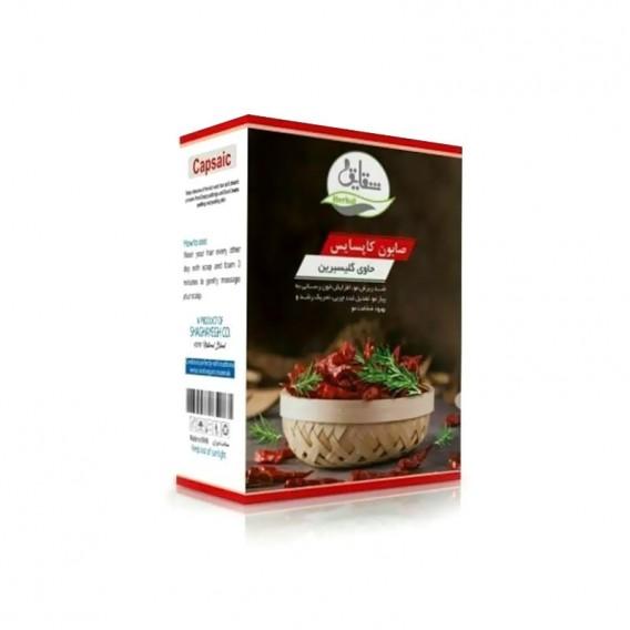 صابون سنتی کاپسایس شقایق با فلفل قرمز