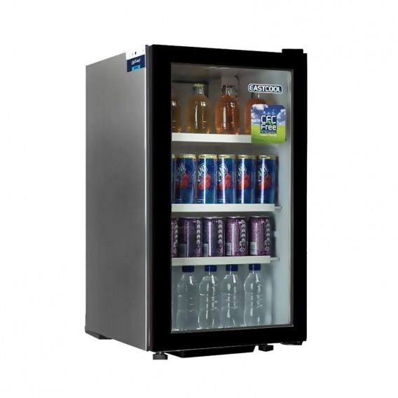 یخچال ویترینی 5 فوت ایستکول مدل TM-9580 CS شوکیس تجاری فن دار eastcool