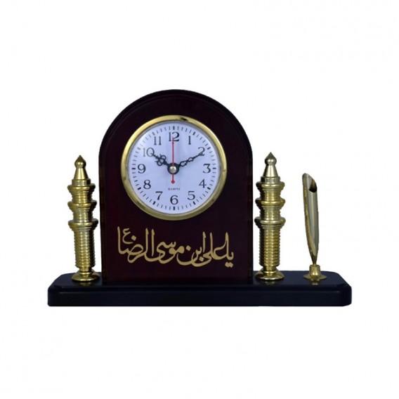 ساعت رومیزی «یاعلی بن موسی الرضا»