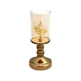 شمعدان کریستال «یا علی بن موسی الرضا»