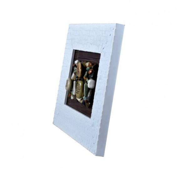 قاب سنگی سفید «چهار قل»