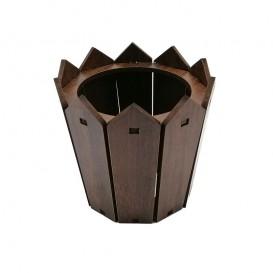 گلدان کوچک چوبی طرح پرچین مزرعه بالسا