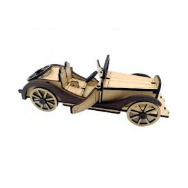 ماکت چوبی ماشین کلاسیک تزئینی بالسا