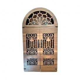 کلیدآویز دیواری چوبی دردار بزرگ طرح سنتی بالسا