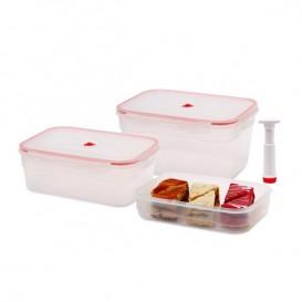 ظرف نگهدارنده غذا پارس خزر مستطیلی 3 تکه (10 لیتر)