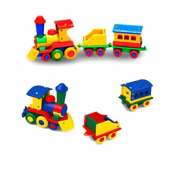 سازوباز قطار بزرگ سه تیکه