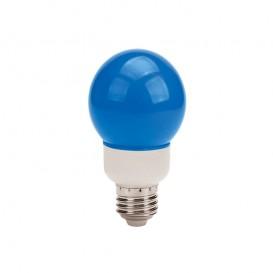 لامپ ال ای دی تزئینی 1 وات حبابدار آبی
