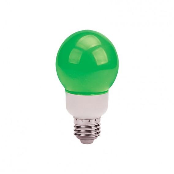 لامپ ال ای دی تزئینی 1 وات حبابدار سبز