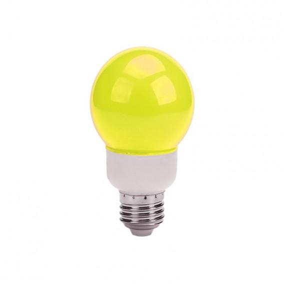 لامپ ال ای دی تزئینی 1 وات حبابدار زرد
