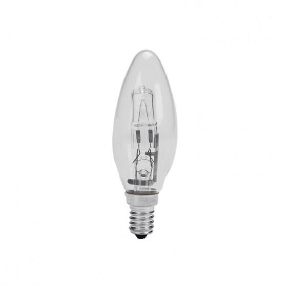 لامپ هالوژن 28 وات پارس شهاب شمعی شفاف