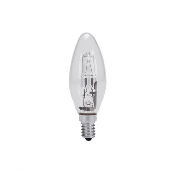لامپ هالوژن 42 وات شمعی شفاف پارس شهاب