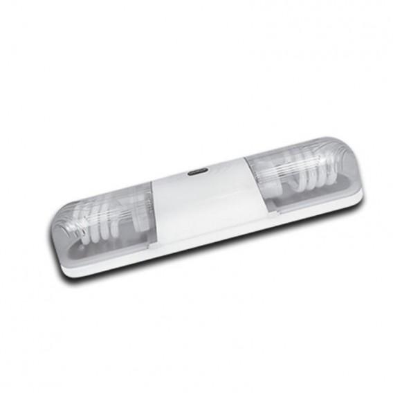 چراغ دیواری خیام الکتریک مدل مهتاب 2 لامپ