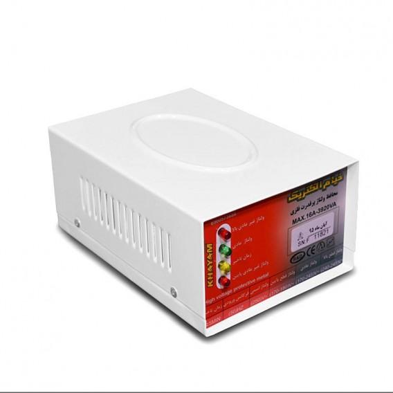 محافظ ولتاژ پرقدرت 3/5 فلزی خیام الکتریک