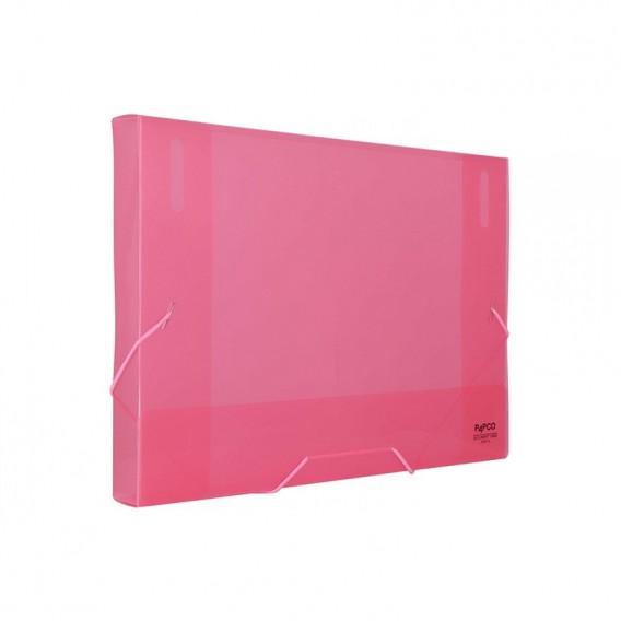 کیف مدارک کش دار شفاف پاپکو مدل S501-3T