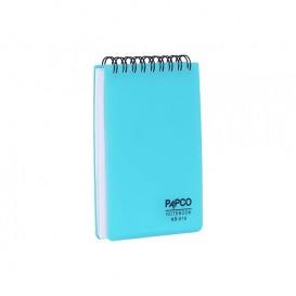 دفتر یادداشت سیم از بالا 100 برگ مات پاپکو مدل NB-616M