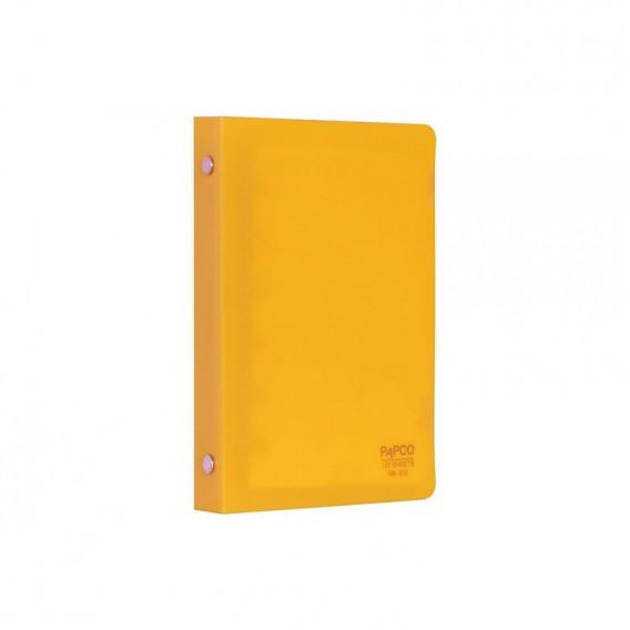 دفتر یادداشت قفل فلزی 120 برگ پاپکو مدل NB-638