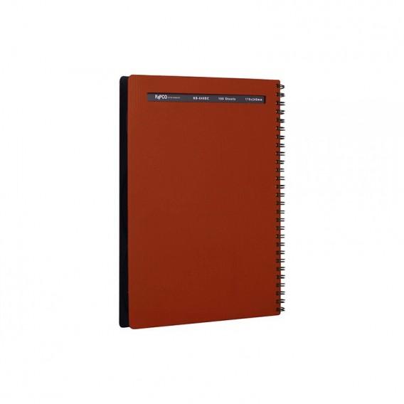 دفتر متالیک 100 برگ پاپکو مدل NB-648BC
