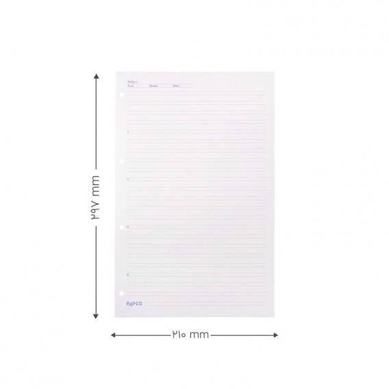 کاغذ کلاسور انگلیسی پاپکو مدل X2