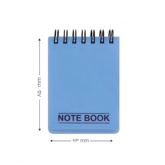 دفتر یادداشت کج راه 100 برگ پاپکو مدل NB-630