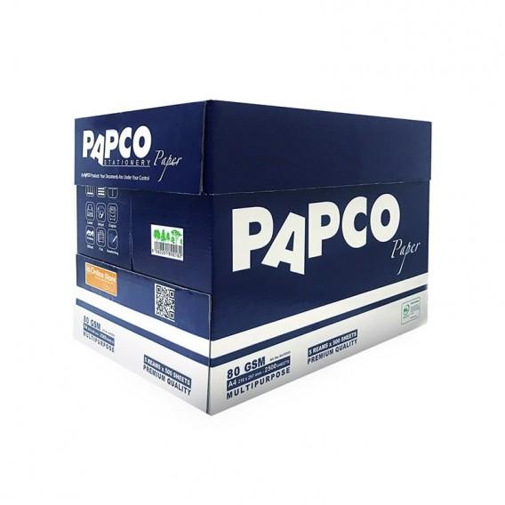 کاغذ A4 پریمیوم بسته 5 عددی پاپکو مدل A4-P500-5