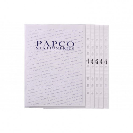 پوشه کیسه ای بی رنگ B5 پاپکو مدل B5-7