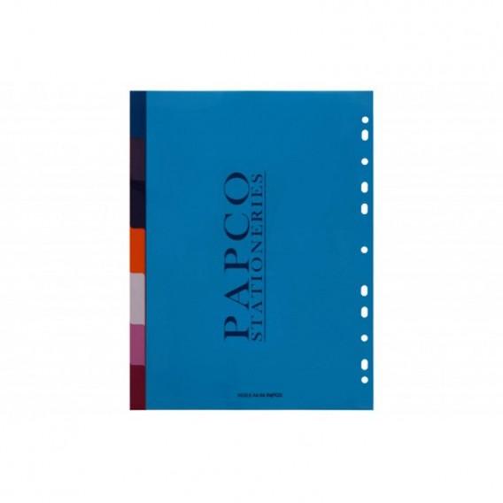 ایندکس 7 برگی (بدون چاپ) پاپکو مدل A4-04