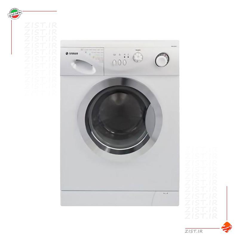 لباسشویی 5 کیلویی اسنوا مدل اکونومی سفید استیل SWD-SS8020