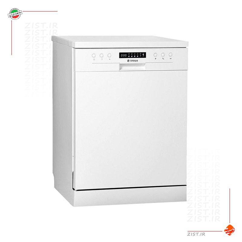 ماشین ظرفشویی ۱۴ نفره سری کلین پاور مدل سفید SWD-140W