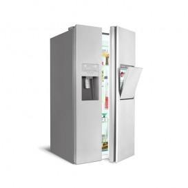 یخچال فریزر هم بر اسنوا ساید بای ساید مدل هایپر سفید Hyper SS-E3510GW