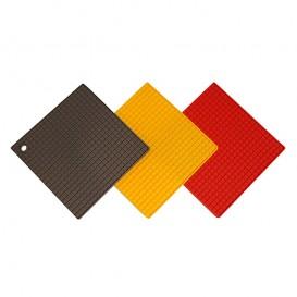 زیرقابلمه ای سیلیکونی مربع کارال