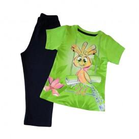 تیشرت و شلوار بچه گانه ردا طرح هدهد (کوچک)