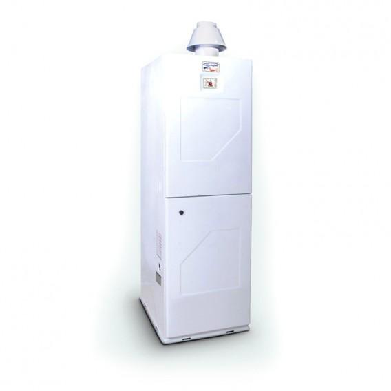 آبگرمکن گازی 200 لیتری گرمان گاز الکترواستیل یخچالی زمینی ایستاده