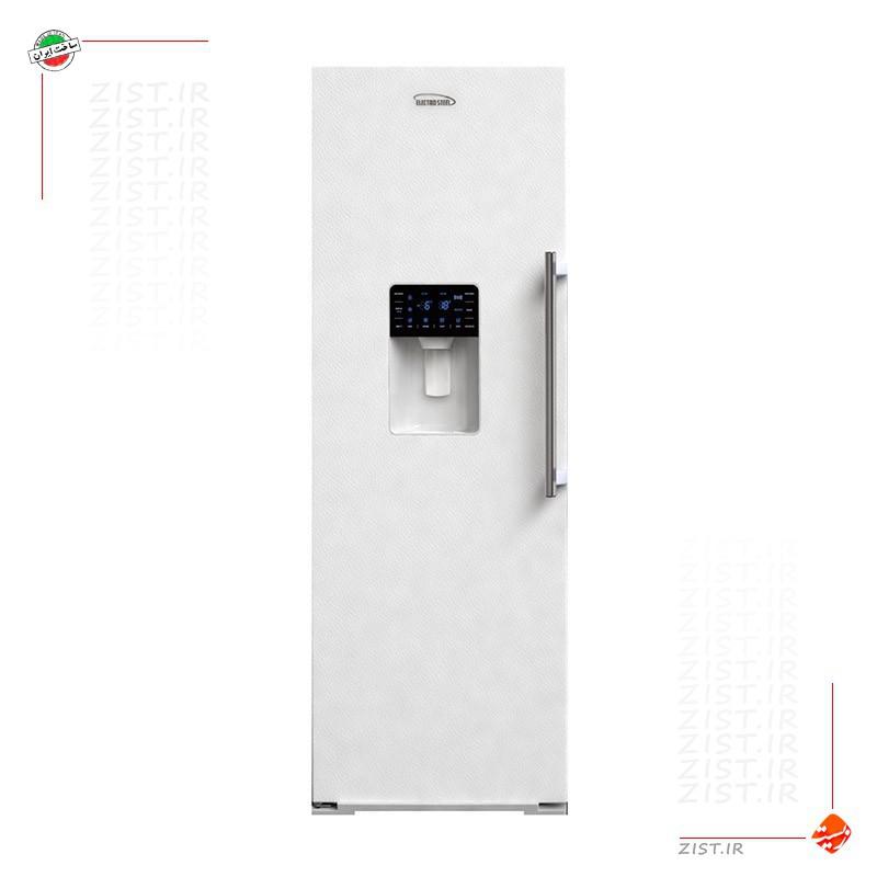 فریزر تک الکترواستیل مدل 23 فوت ES23 سفید چرمی با یخساز اتوماتیک